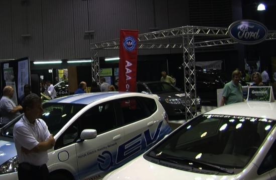 The Santa Monica Civic Center displayed new cars and ATVs that use alternative energy this past weekend for the 6th Annual AltCar Expo.