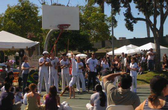 One of the performances at the 6th Annual Pico Festival and Car Show on Sunday