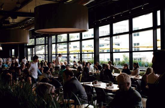 True Food Kitchen is one of more than 40 participating restuarants in Santa Monica.