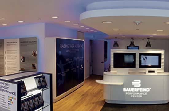The Bauerfeind Performance Center in Santa Monica is helping athletes get back in their game using physical therapy techniques and technology.