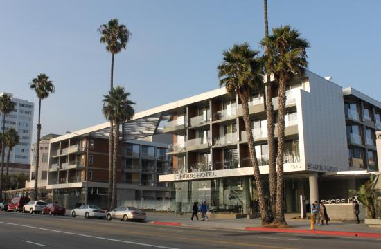 Shore Hotel in Santa Monica has been nine years in the making.