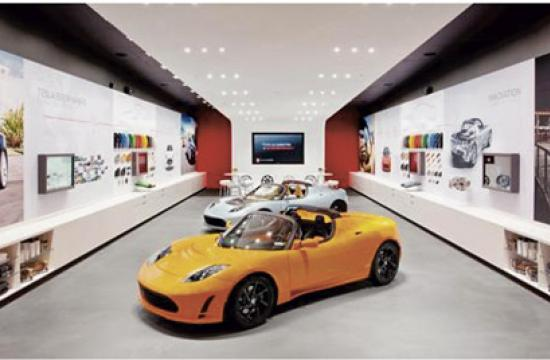 The proposal for electric vehicle showrooms on the Third Street Promenade