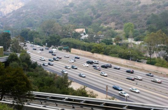 The southbound 405 Freeway lanes will close Tuesday and Wednesday night
