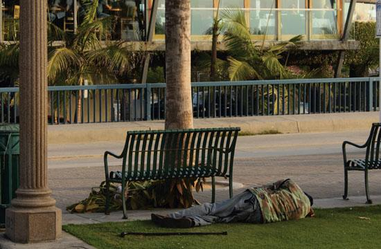Homelessness within Santa Monica is third on the list of priority concerns for the city.
