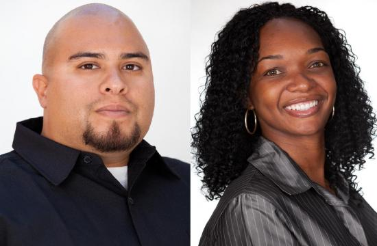 Sergio Arias and Arlisha Adkison will be honored at this morning's Success Breakfast in Santa Monica.