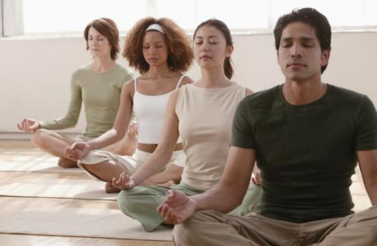 Yoga is one of the classes available at the YWCA Santa Monica / Westside.
