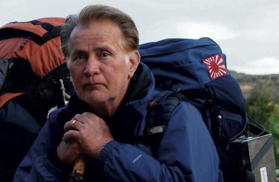 "Martin Sheen as Tom in ""The Way"" carries his son's ashes"