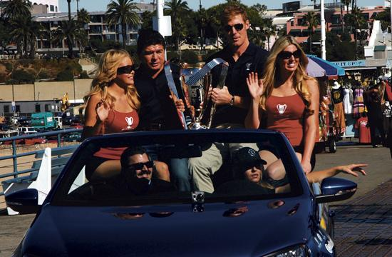 The Major League Soccer Cup 2011 made a special stop in Santa Monica on Wednesday.
