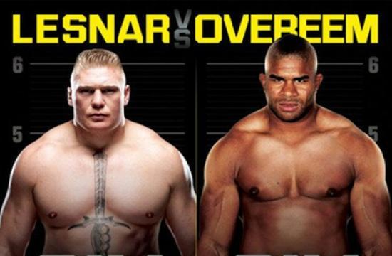 "Today's public press conference in Santa Monica will announce UFC 141: ""Lesnar vs Overeem"