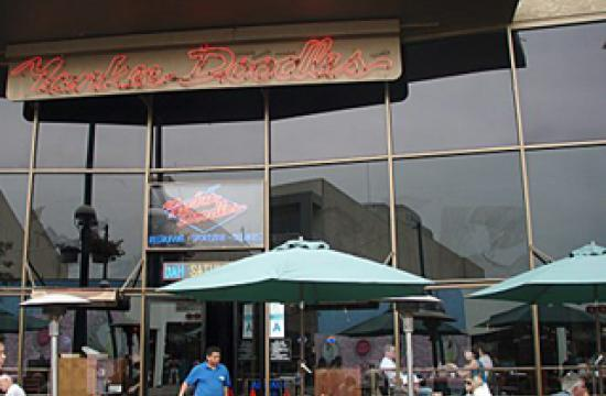 Yankee Doodles is located at 1410 Third Street Promenade.