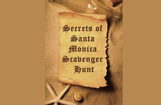 Secrets of Santa Monica Scavenger Hunt will be held this Friday and Saturday