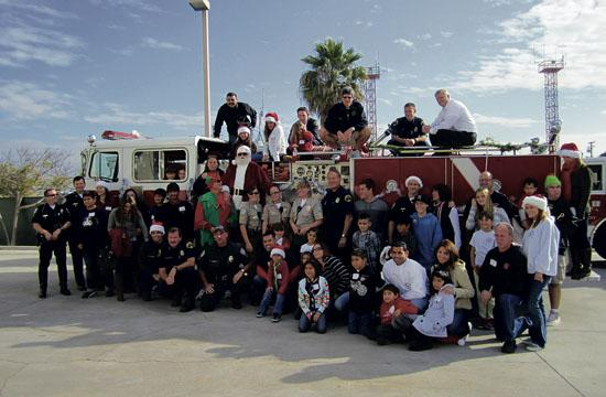 The SMPD/SMFD Candy Cane Drive will take place this Saturday