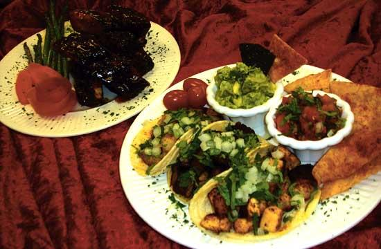 The Carnitas Tacos and BBQ Ribs are favorites at Marla's Cafe.
