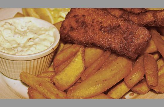 Fish and Chips has found its way onto  the new menu at O'Brien's on Main Street.