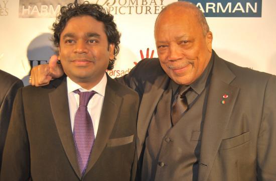 A.R. Rahman and Quincy Jones.