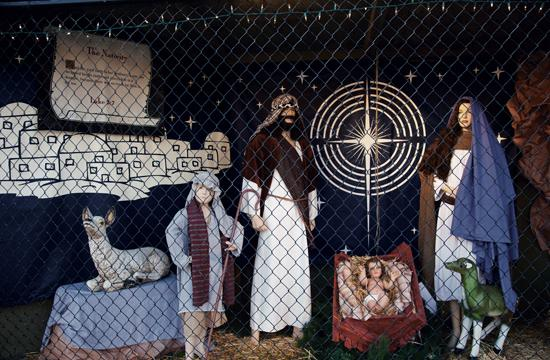 Santa Monica Nativity Scenes received just three of the 21 plots available at Palisades Park this year designated for holiday– or seasonably– themed displays