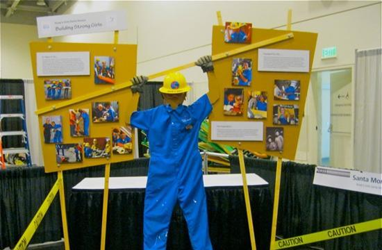 The display featured at the 2011 League of California Cities 2011 Annual Conference.
