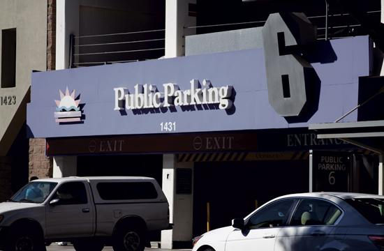 Parking Structure 6 will close next month for redevelopment.