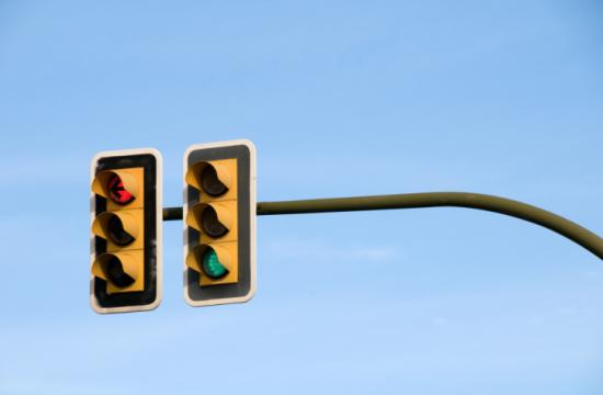 There will be three planned traffic signal outages today.