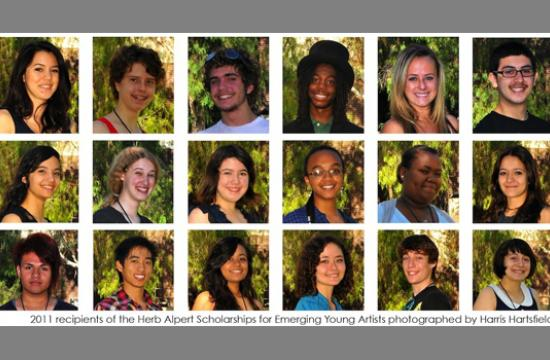 The 2011 Herb Alpert Foundation Scholarship Winners.
