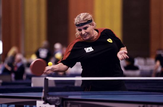 Kim Gilbert will compete in the Olympic trials for table tennis next month