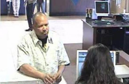 David Michael Cardwell is the suspect in the Chase Bank robbery