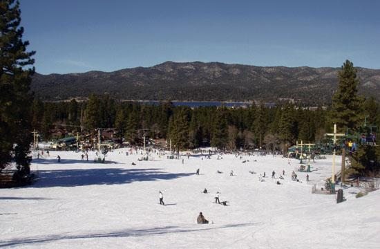 Big Bear Mountain is a 200-acre winter playground where you can de-stress and re-energize during a weekend away from the hustle and bustle of Los Angeles.