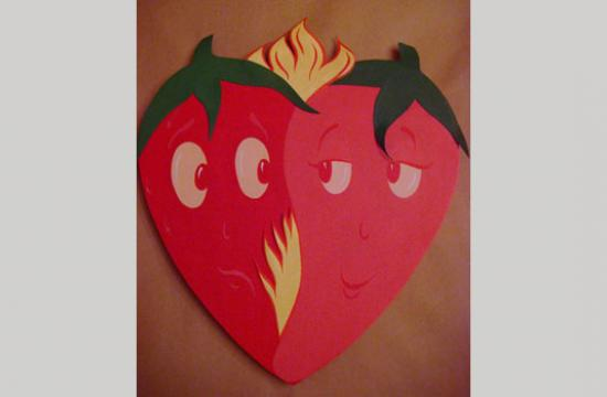 The event will include a silent auction of uniquely-crafted hearts.