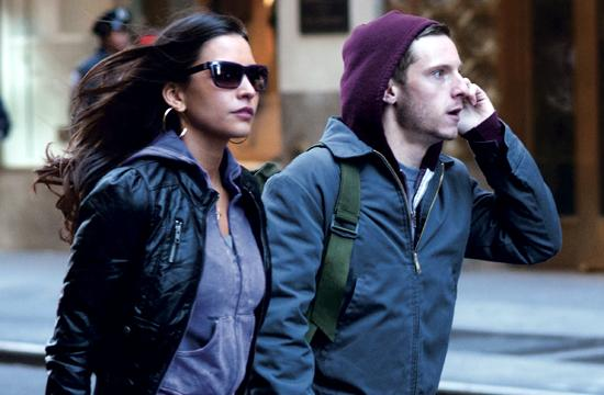 """Genesis Rodriguez and Jamie Bell co-starring in """"Man On A Ledge"""
