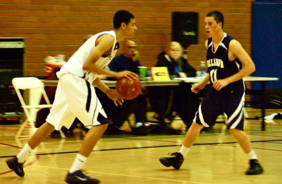 The New Roads Jaguars made easy work of Villanova Prep in the first round of the CIF.