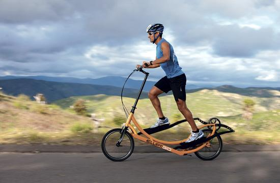ElliptiGO: The Outdoor Elliptical Bicycle