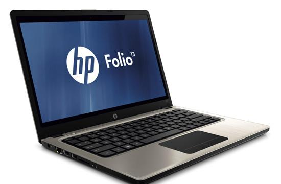 The HP UltraBook.