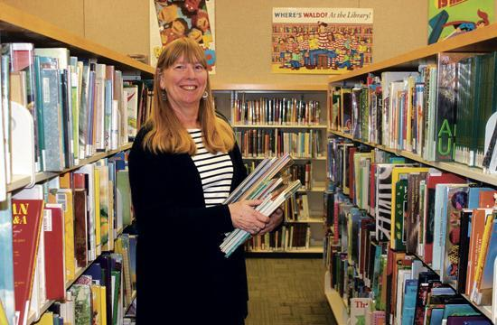 Montana Branch Library Manager Terrie Dorio and her staff will welcome back library-goers this Saturday