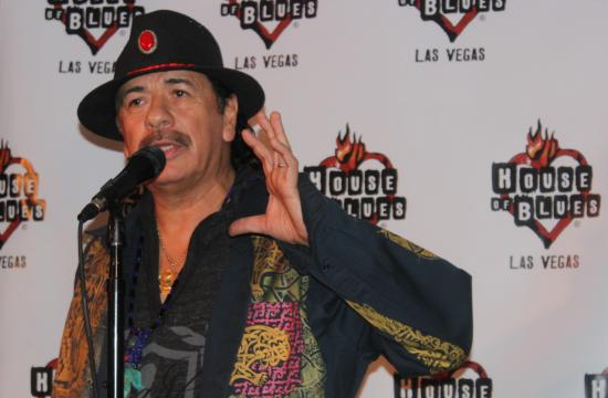 Carlos Santana has signed a two-year residency deal at House of Blues inside Mandalay Bay in Las Vegas.