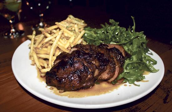 The steak and parmesan fries will set you back just $22.
