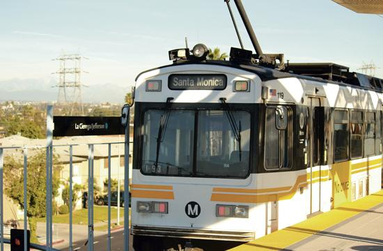 The Expo Light Rail Line Phase 1 to the La Cienega/Jefferson station is expected to begin operating in mid-April.