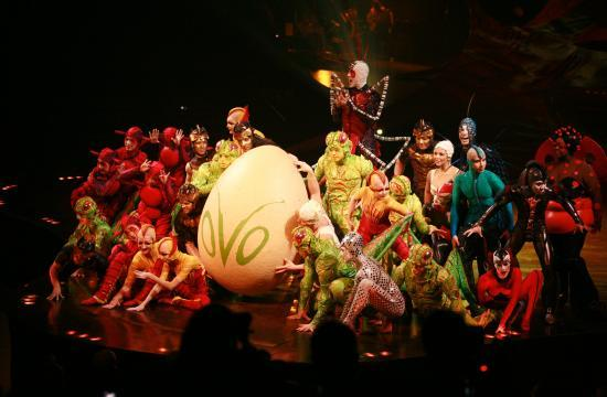 "Cirque du Soleil's traveling production of ""OVO"" will conclude in Santa Monica this Sunday"
