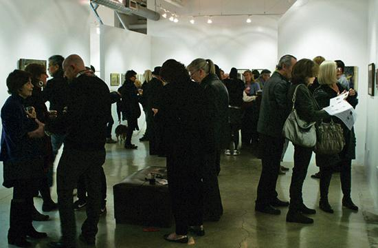 Among the NoirFest Santa Monica festivities was an exhibition at dnj gallery featuring works by Helen K. Garber.