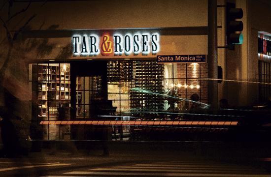 The restaurant opened in January on Santa Monica Blvd.