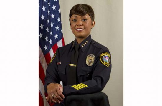 Inglewood Police Chief Jacqueline Seabrooks has been tapped to lead the Santa Monica Police Department.