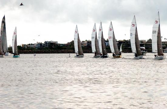 The 48th annual Sunset Series set sail in Marina Del Rey on Wednesday. The Series will continue each Wednesday through Sept. 5.