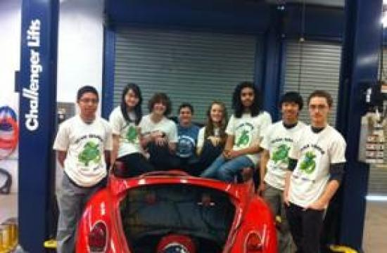 Samohi's Car Team claims 1st Place at the 2011-12 QuikSCience Challenge