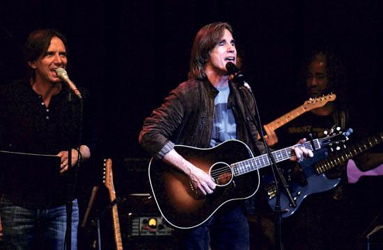 Jackson Browne performed at the Ninth Annual Benefit Concert and helped raise $85