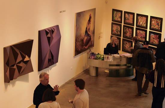 ArtLA celebrated its grand opening on April 21 at Santa Monica's Bergamot Station where a number of professional pieces adorned the walls of the art center.