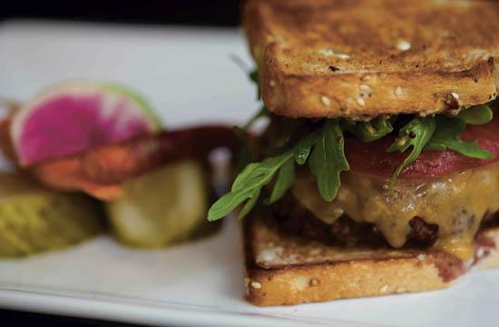 The Misfit Burger is optimally served with just the right texture and tenderness and with buttery bread.