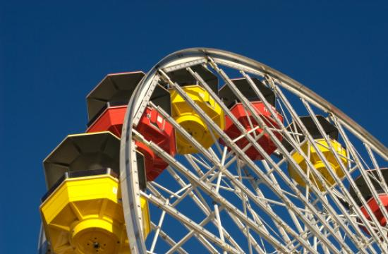 Pacific Park is offering moms a free ride on the Ferris wheel for Mother's Day.