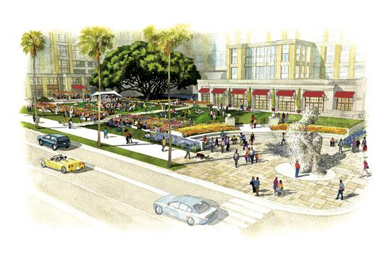 If the Fairmont Miramar's proposed revitalization project is ultimately approved by the City Council