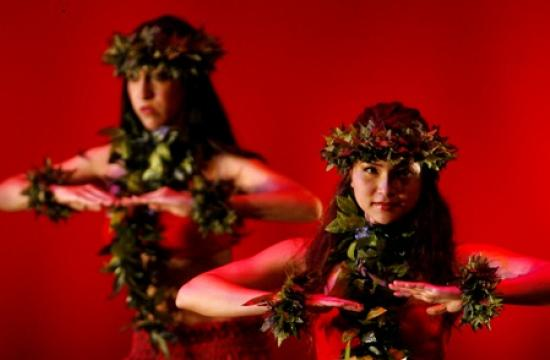 Hawaiian dance reflects the theme of Friday's Global Motion concert