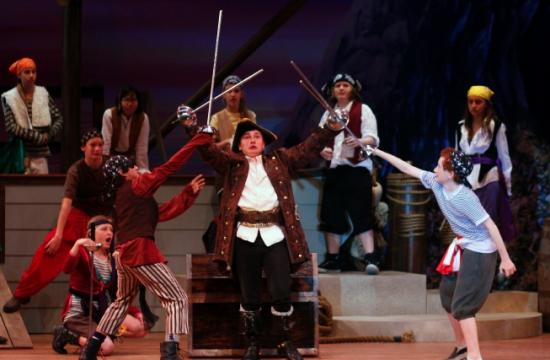 "Lincoln Middle School presents ""The Pirates of Penzance"" this weekend."
