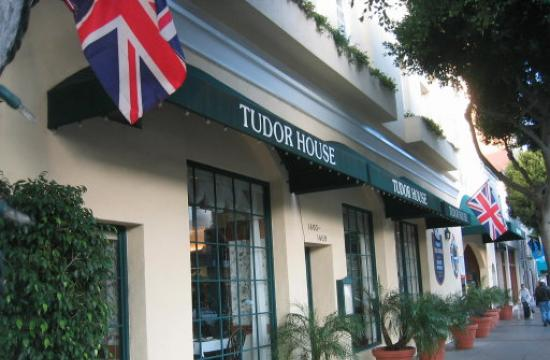 Tudor House is located at 1403 2nd Street in Santa Monica.